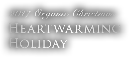 2017 Organic Christmas Heartwarming Holiday